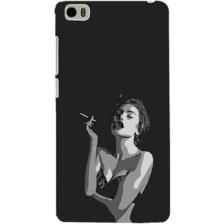 ifasho Smoking girl Back Case Cover for Redmi Mi5