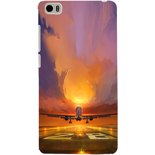 ifasho aeroPlane flying in blue sky Back Case Cover for Redmi Mi5