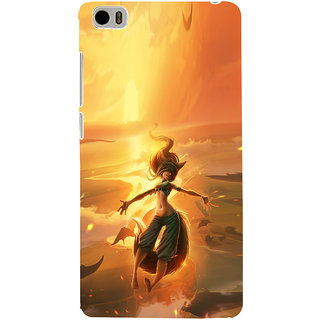 ifasho Girl in water animated Back Case Cover for Redmi Mi5