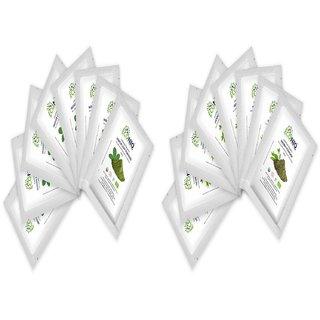 Econiq Organic Indigo and Henna leaf powder (8 x 100g each)