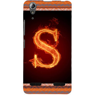 ifasho alphabet name series S Back Case Cover for Lenovo A6000