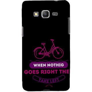 ifasho Right and Wrong Quote Back Case Cover for Samsung Galaxy Grand Prime