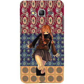 ifasho Dancing girl Back Case Cover for Samsung Galaxy Grand Prime
