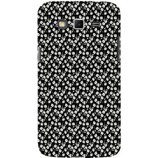 ifasho Modern Art Design animated cloth Pattern of small flower Back Case Cover for Samsung Galaxy Grand