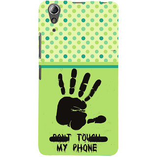 ifasho Modern Art Design  dont touch my phone with palm Back Case Cover for Lenovo A6000