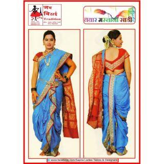Radimate Navari Sari To Wear Mastani Sadi
