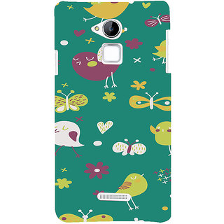 ifasho Animated Pattern birds and butterfly Back Case Cover for Coolpad Note 3