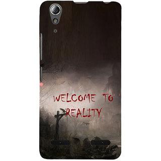 ifasho Graveyard horror Back Case Cover for Lenovo A6000