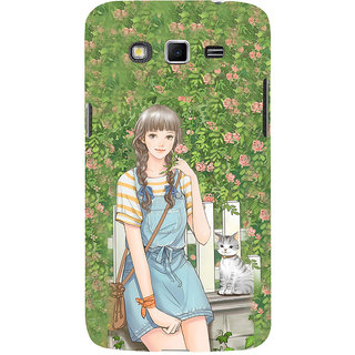 ifasho Girl in park Back Case Cover for Samsung Galaxy Grand