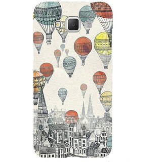 ifasho city with artistic hot air baloon Back Case Cover for Samsung Galaxy Grand3