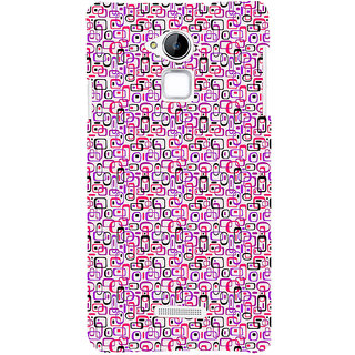 ifasho Colour Full Squre Pattern Back Case Cover for Coolpad Note 3