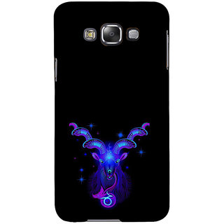 ifasho zodiac sign aries Back Case Cover for Samsung Galaxy E7