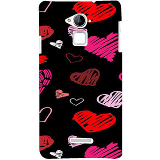 ifasho Animated Pattern With Love Back Case Cover for Coolpad Note 3