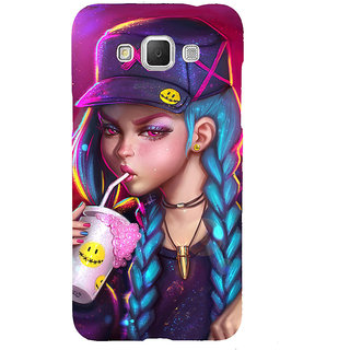 ifasho Girl drinking cold drink Back Case Cover for Samsung Galaxy Grand Max