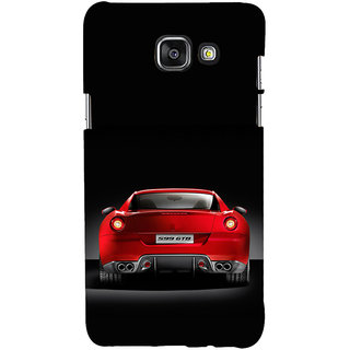 ifasho Red Stylish Car from back side Back Case Cover for Samsung Galaxy A7 A710 (2016 Edition)