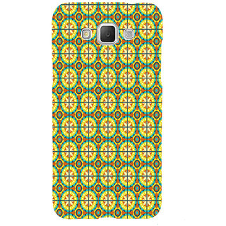 ifasho Animated Pattern design colorful flower in royal style with lines Back Case Cover for Samsung Galaxy Grand3