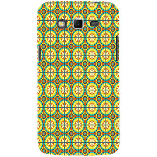 ifasho Animated Pattern design colorful flower in royal style with lines Back Case Cover for Samsung Galaxy Grand