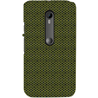 ifasho Modern Art Design Pattern honey Bee case style Back Case Cover for Moto X Force