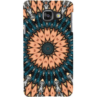 ifasho Animated Pattern design colorful flower in royal style Back Case Cover for Samsung Galaxy A3 A310 (2016 Edition)