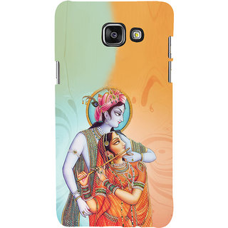ifasho Lord Krishna and Meera Back Case Cover for Samsung Galaxy A7 A710 (2016 Edition)
