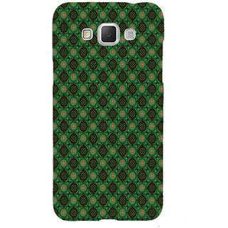 ifasho Pattern green red and black flower design Back Case Cover for Samsung Galaxy Grand3