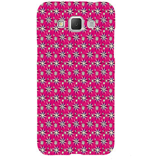 ifasho Pattern green white and red animated flower design Back Case Cover for Samsung Galaxy Grand3