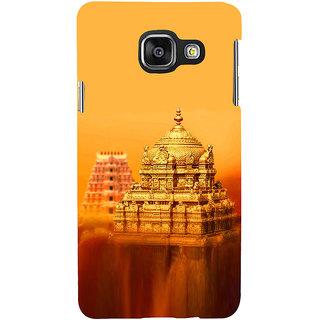 ifasho Tirupati Balaji Temple Back Case Cover for Samsung Galaxy A3 A310 (2016 Edition)