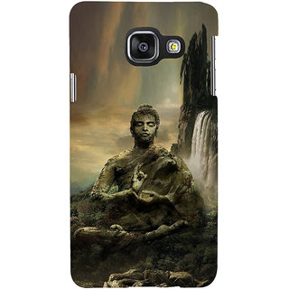 ifasho Lord Budha Back Case Cover for Samsung Galaxy A3 A310 (2016 Edition)