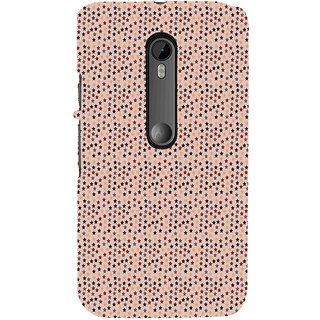 ifasho Animated Pattern colourful littel stars Back Case Cover for Moto X Force