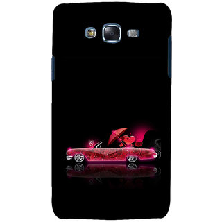 ifasho heart riding animated car Back Case Cover for Samsung Galaxy J7