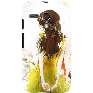 ifasho Princess painting Back Case Cover for Moto G