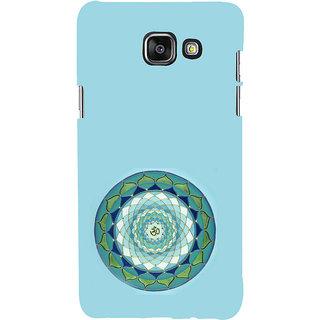 ifasho Modern Art Om design pattern in kundli Back Case Cover for Samsung Galaxy A7 A710 (2016 Edition)