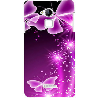 ifasho Butterfly Back Case Cover for Coolpad Note 3