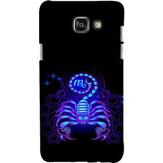 ifasho zodiac sign scorpio Back Case Cover for Samsung Galaxy A7 A710 (2016 Edition)