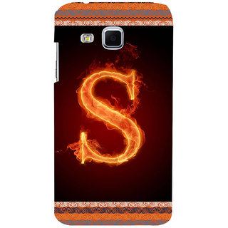 ifasho alphabet name series S Back Case Cover for Samsung Galaxy J3