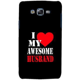 ifasho I love my husband quotes Back Case Cover for Samsung Galaxy J7 (2016)