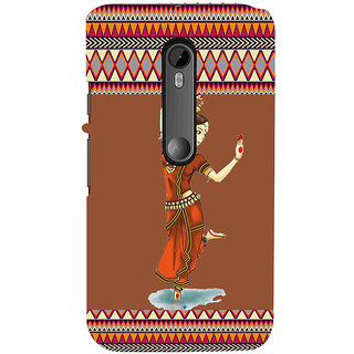 ifasho Odishi dance Back Case Cover for Moto X Force