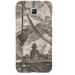ifasho Modern art painting of city Building  Back Case Cover for Samsung Galaxy Grand3