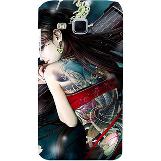 ifasho tatoo girl Back Case Cover for Samsung Galaxy J3