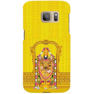 ifasho Tirupati Balaji Back Case Cover for Samsung Galaxy S7 Edge
