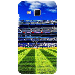 ifasho Football stadium field Baseball field Back Case Cover for Samsung Galaxy J3