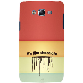 ifasho Passinate Love Quote Back Case Cover for Samsung Galaxy J7