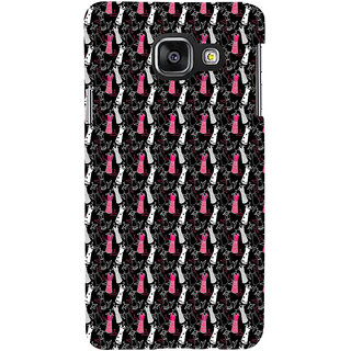 ifasho Pattern girls dresses frock suits Back Case Cover for Samsung Galaxy A3 A310 (2016 Edition)