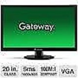 "Acer Gateway 19.5""(20"") Widescreen LED Colour Monitor with 3 year warranty"