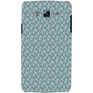 ifasho Modern Art Design Pattern with Lot Of small anchor Back Case Cover for Samsung Galaxy J5