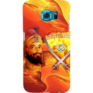 ifasho Sikh Guru Gobind singh Back Case Cover for Samsung Galaxy S6 Edge Plus