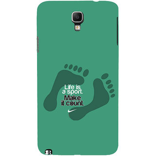 ifasho life Quotes sports quotes Back Case Cover for Samsung Galaxy Note3 Neo