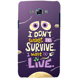 ifasho life Quotes Back Case Cover for Samsung Galaxy J7