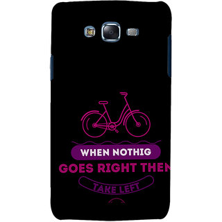 ifasho Right and Wrong Quote Back Case Cover for Samsung Galaxy J7 (2016)