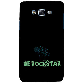 ifasho me rock star quote Back Case Cover for Samsung Galaxy J7 (2016)